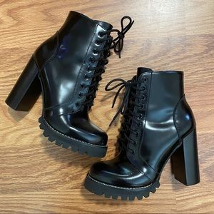 Jeffrey Campbell Legion Patent Leather Boo…